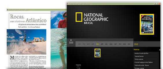 DVD-ROM National Geographic Brasil