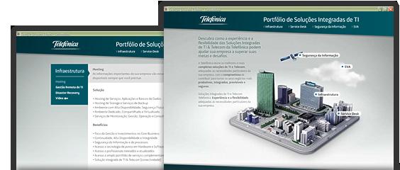 Portfólio de soluções Integradas de TI