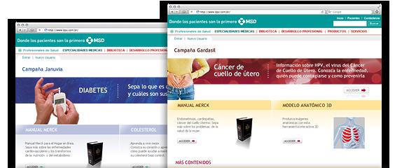 Landing Pages Medicamentos