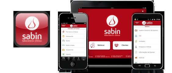 Laboratórios Sabin : aplicativo multiplataforma