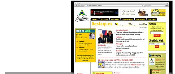 Portal AOL Brasil