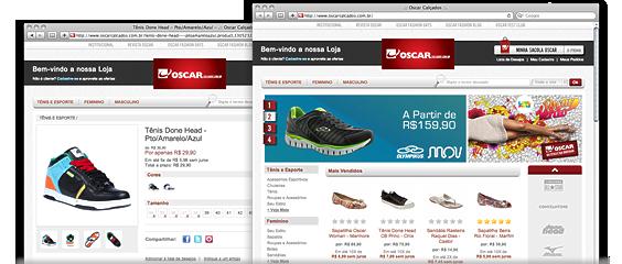 e-Commerce Oscar Calçados