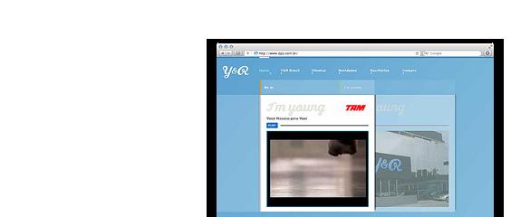Website Y&R Brasil