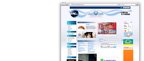 Website Radio Lac
