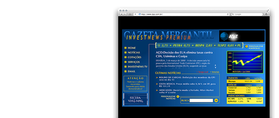 Gazeta Mercantil Investnews Premium